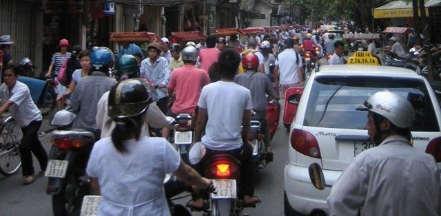 Crowded Hanoi St