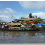 The Floating Markets of Can Tho