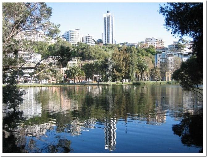 Perth city view