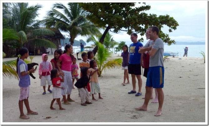 Kids in Palawan