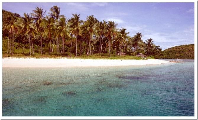 Palawan desert island