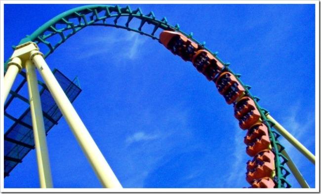 Roller coaster loop