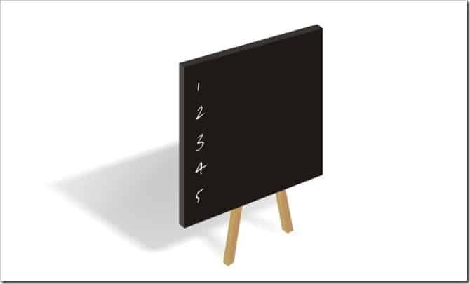 Blackboard list