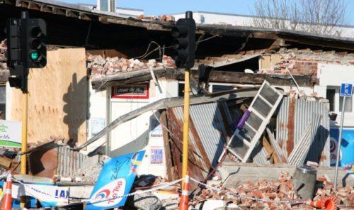Christchurch earthquake Feb 2011