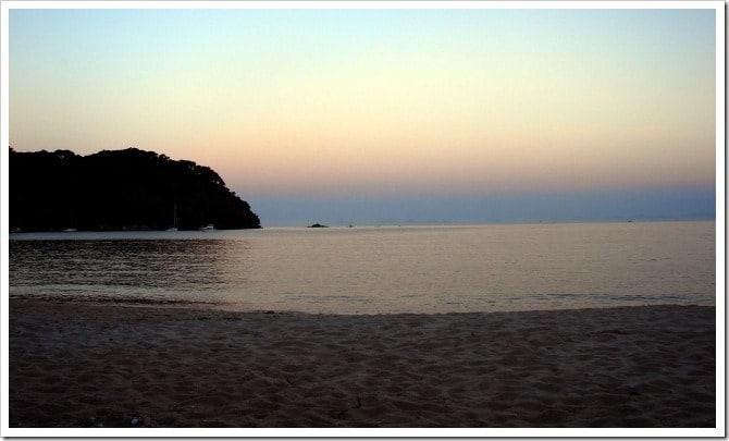 Bark Bay at sunset