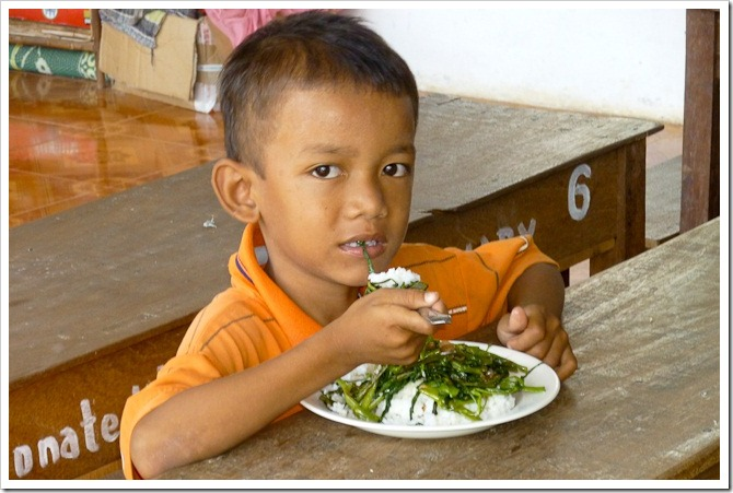 Lunch time, Svay Rieng