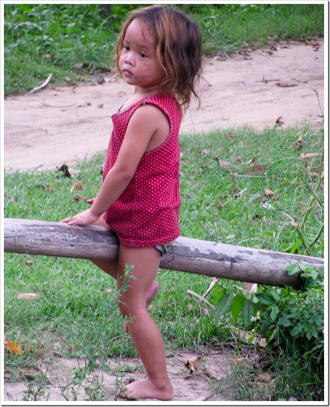 Wistful look, Laos