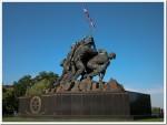 Iwo Jima - Hoisting the flag in DC
