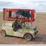 Mongol Rally phonebox