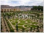 Enjoying the gardens at Versailles