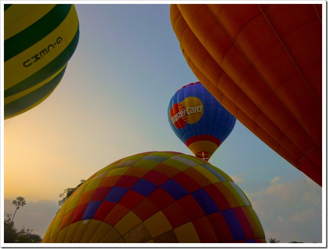 Balloons in Chiang Mai