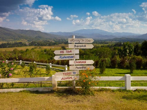 Signs in Pai