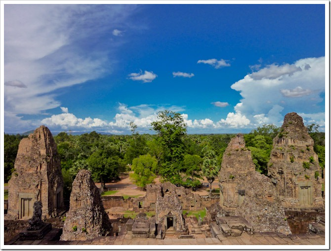 View from Pre Rup, Cambodia
