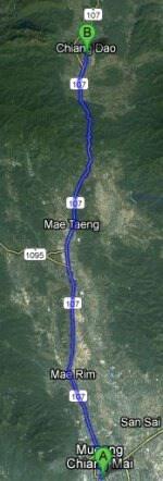 Chiang Mai to Chiang Dao