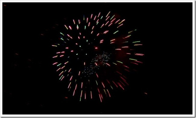 Fireworks in Chiang Mai 2012