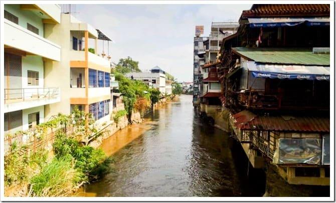 River at Burmese border