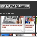 Too Many Adapters homepage
