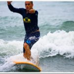 A klutz learns to surf in Bali