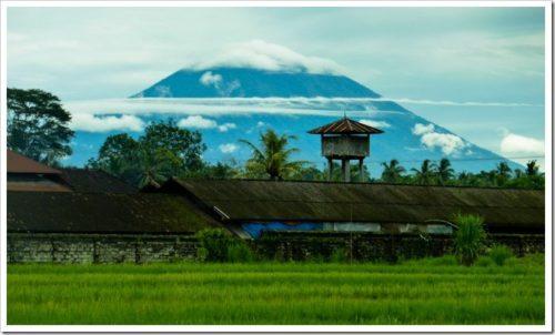 Mountain views in Bali
