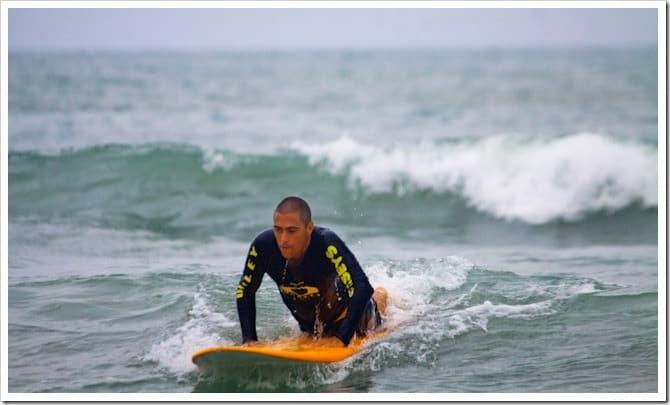 Surfing in Bali 1