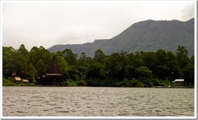 Temple on Lake Batur