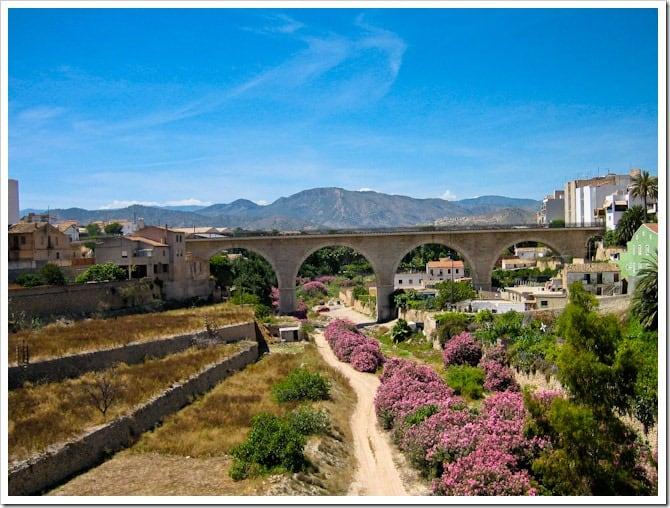 Aqueduct in Alicante