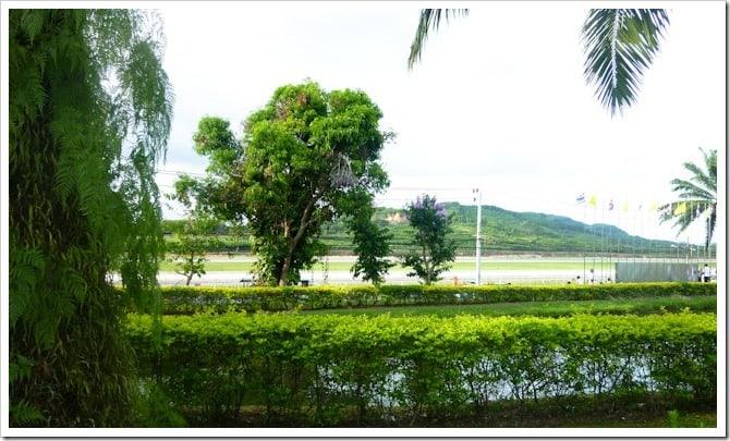 Evacuation zone, Phuket airport