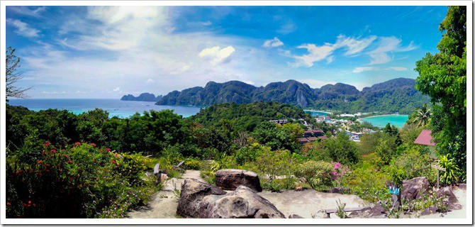 Phi Phi panorama