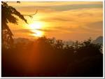 Sunrise from the balcony, Koh Yao Noi