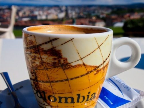 Coffee in La Coruna