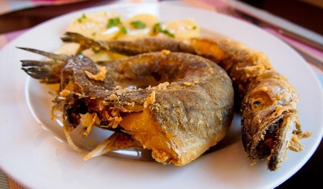 Fish for lunch, La Coruna
