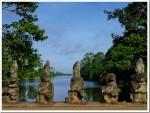 Outside Angkor Thom