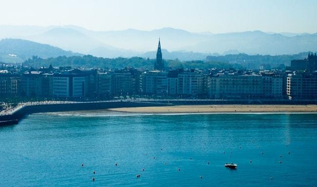 San Sebastian view