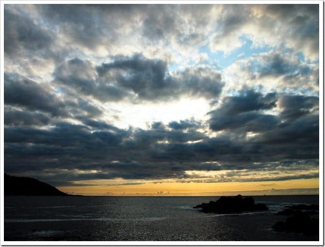 Sunset in La Coruna