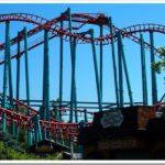 Roller coaster in Denver