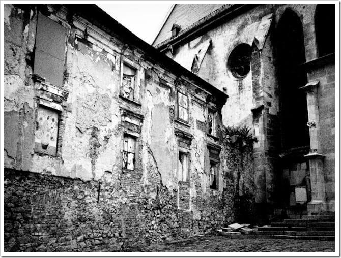 Black and white church, Bratislava