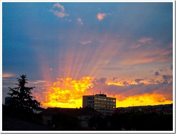 Bratislava sunset