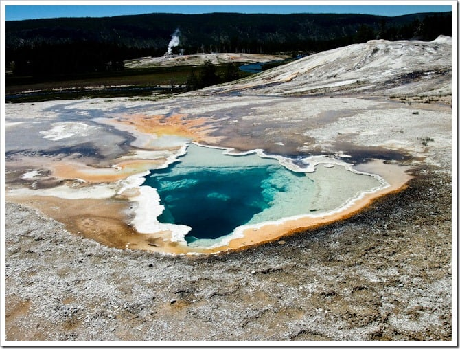 Moonscape in Yellowstone