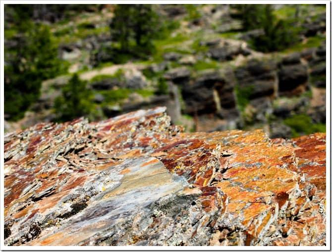 Rocks, Glacier National Park