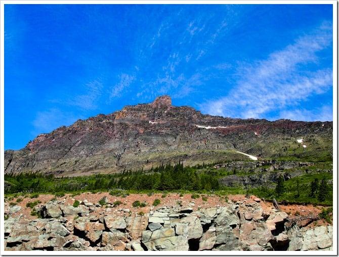 Rocky view, Glacier National Park