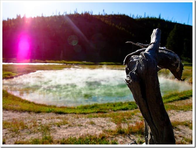 So many colours, Yellowstone