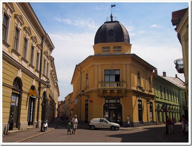 Street scene, Eger