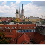 Zagreb churches and roofs