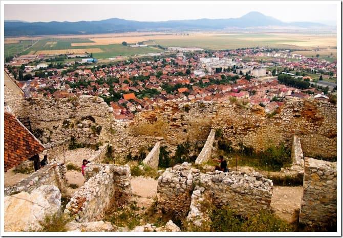 Rasnov ruins