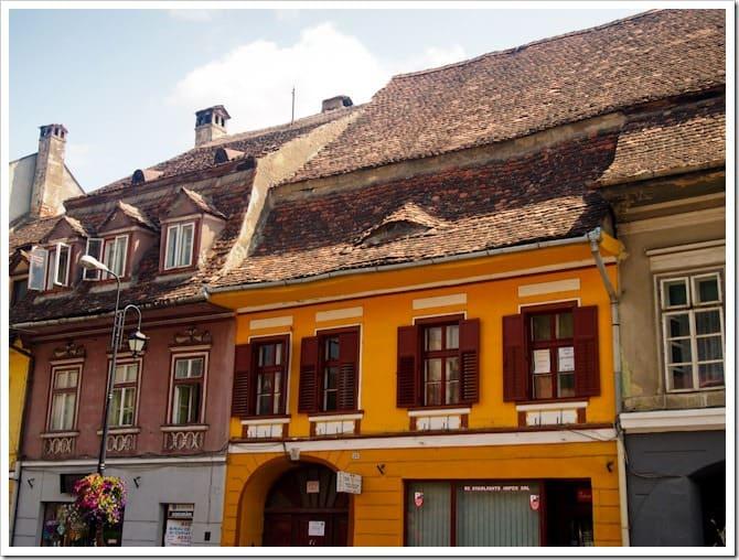 Sighisoara buildings