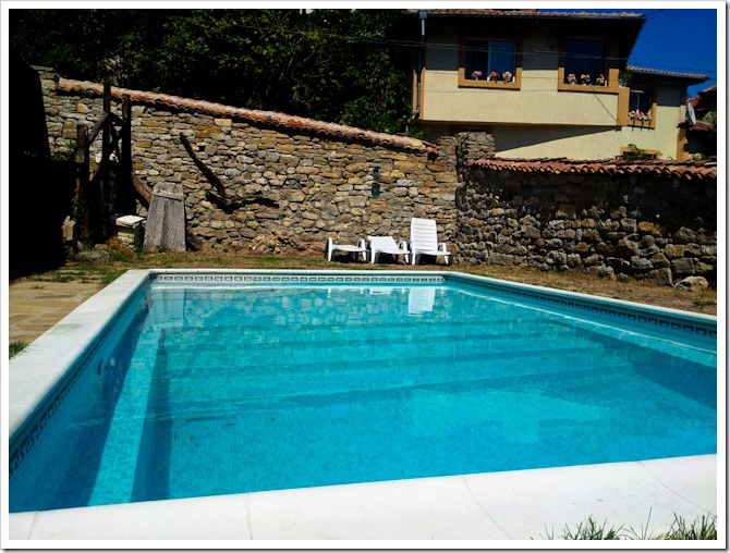 Veliko Tarnovo hostel pool