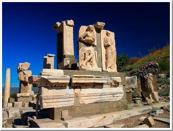 Ephesus statues