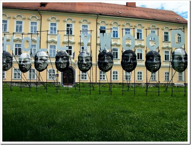 Hollywood faces, Ljubljana