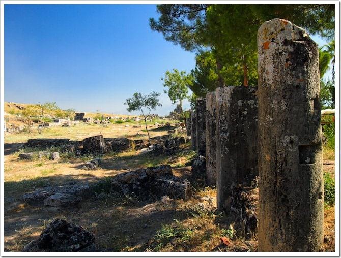 Pamukkale ruins