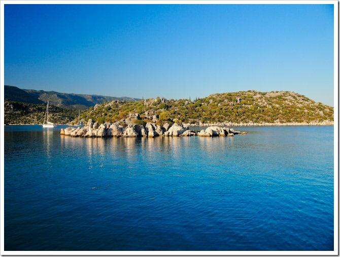 Turkey coast view